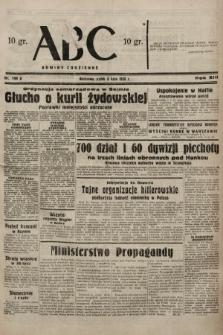 ABC : nowiny codzienne. 1938, nr199 A