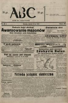 ABC : nowiny codzienne. 1938, nr201 A