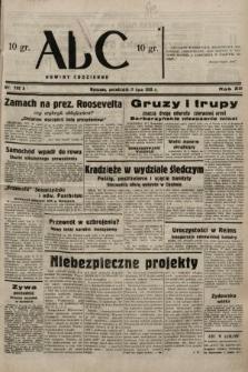 ABC : nowiny codzienne. 1938, nr202 A
