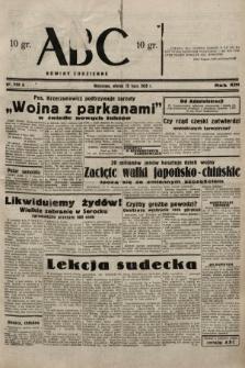 ABC : nowiny codzienne. 1938, nr203 A