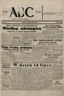 ABC : nowiny codzienne. 1938, nr205 A