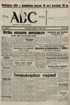 ABC : nowiny codzienne. 1938, nr208 A