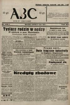 ABC : nowiny codzienne. 1938, nr213 A