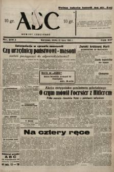 ABC : nowiny codzienne. 1938, nr214 A