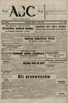 ABC : nowiny codzienne. 1938, nr219 A