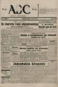 ABC : nowiny codzienne. 1938, nr220 A