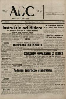 ABC : nowiny codzienne. 1938, nr223 A