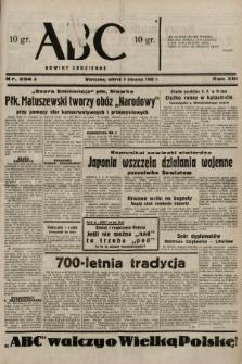 ABC : nowiny codzienne. 1938, nr234 A