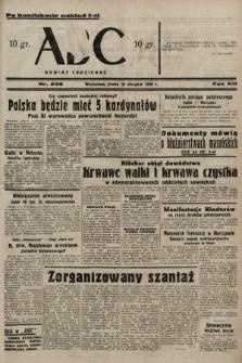 ABC : nowiny codzienne. 1938, nr236 A [ocenzurowany]