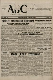 ABC : nowiny codzienne. 1938, nr237 A