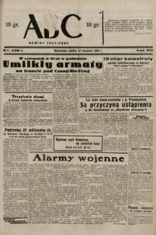 ABC : nowiny codzienne. 1938, nr238 A