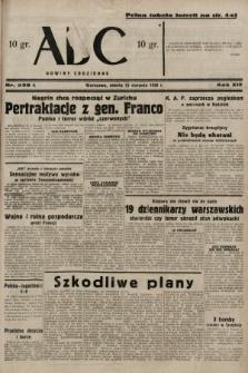 ABC : nowiny codzienne. 1938, nr239 A