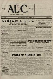 ABC : nowiny codzienne. 1938, nr244 A