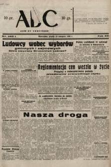 ABC : nowiny codzienne. 1938, nr245 A