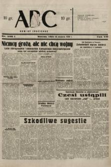 ABC : nowiny codzienne. 1938, nr246 A