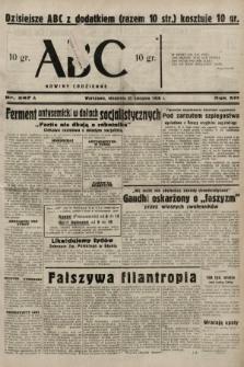 ABC : nowiny codzienne. 1938, nr247 A