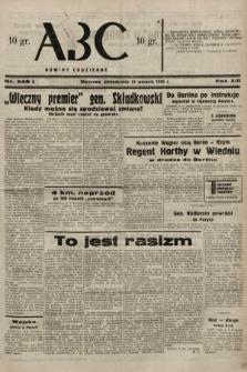 ABC : nowiny codzienne. 1938, nr248 A