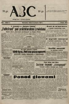 ABC : nowiny codzienne. 1938, nr250 A