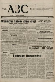 ABC : nowiny codzienne. 1938, nr251 A