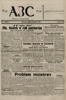 ABC : nowiny codzienne. 1938, nr252 A