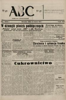 ABC : nowiny codzienne. 1938, nr253 A