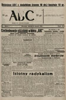 ABC : nowiny codzienne. 1938, nr254 A