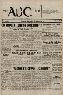 ABC : nowiny codzienne. 1938, nr255 A