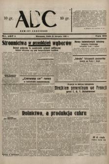 ABC : nowiny codzienne. 1938, nr257 A