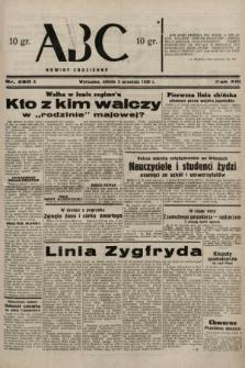 ABC : nowiny codzienne. 1938, nr260 A