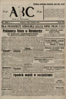 ABC : nowiny codzienne. 1938, nr264 A