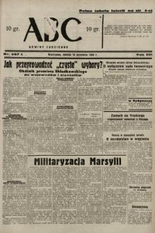 ABC : nowiny codzienne. 1938, nr267 A