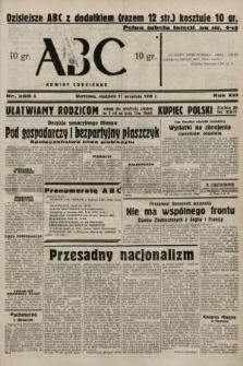 ABC : nowiny codzienne. 1938, nr268 A