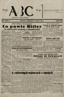 ABC : nowiny codzienne. 1938, nr269 A