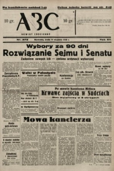 ABC : nowiny codzienne. 1938, nr272 A [ocenzurowany]