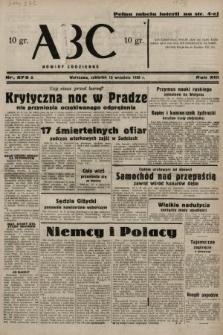 ABC : nowiny codzienne. 1938, nr273 A