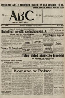ABC : nowiny codzienne. 1938, nr277 A
