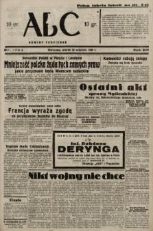ABC : nowiny codzienne. 1938, nr279 A