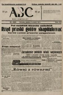 ABC : nowiny codzienne. 1938, nr283 A [ocenzurowany]