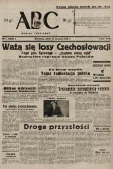 ABC : nowiny codzienne. 1938, nr285 A
