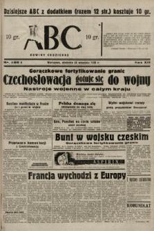 ABC : nowiny codzienne. 1938, nr286 A