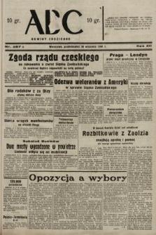 ABC : nowiny codzienne. 1938, nr287 A