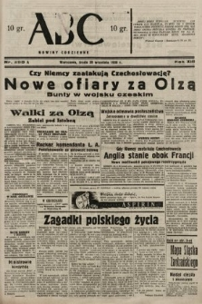 ABC : nowiny codzienne. 1938, nr290 A