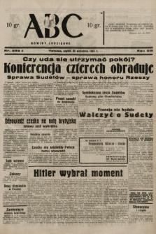 ABC : nowiny codzienne. 1938, nr292 A