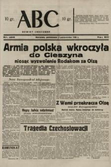 ABC : nowiny codzienne. 1938, nr296 A