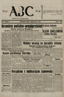 ABC : nowiny codzienne. 1938, nr298 A