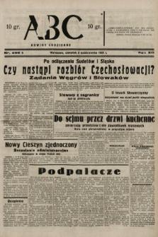 ABC : nowiny codzienne. 1938, nr299 A