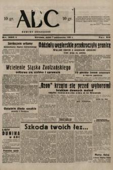 ABC : nowiny codzienne. 1938, nr300 A