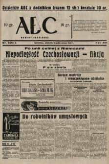 ABC : nowiny codzienne. 1938, nr302 A