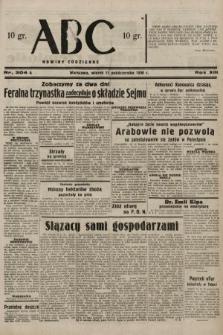 ABC : nowiny codzienne. 1938, nr304 A