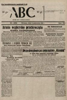 ABC : nowiny codzienne. 1938, nr306 A [ocenzurowany]
